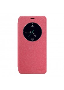 Чехол для Meizu M3e Nillkin Sparkle Leather Case, красный