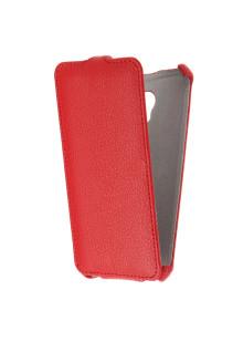 Чехол для Meizu M5 Gecko Flip, красный