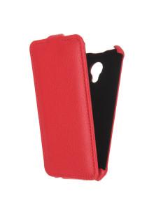 Чехол для Meizu M2 Mini Gecko Flip, красный
